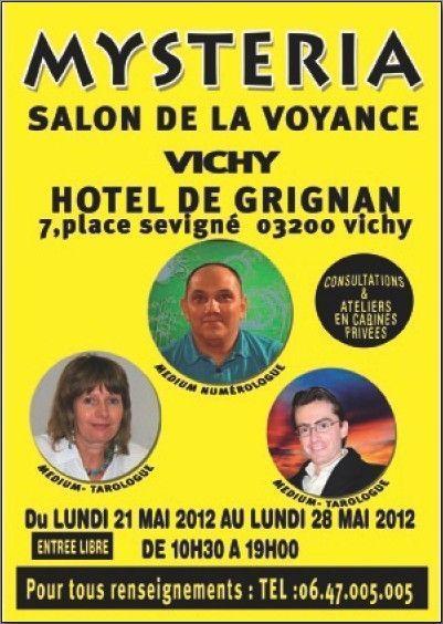 Salon de la voyance mysteria vichy centerblog for Salon de la voyance